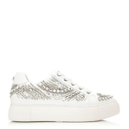 All Trainers | Moda in Pelle Womens Adazzle White Porvair White