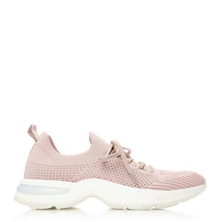 All Trainers | Moda in Pelle Womens Athlete Nude Fabric Nude