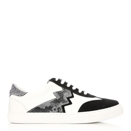 All Trainers | Moda in Pelle Womens Axis Black Suede Black