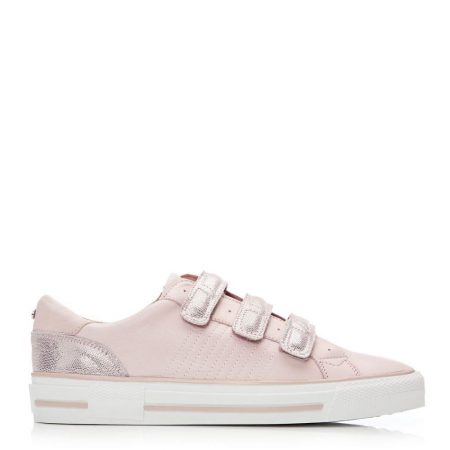 All Trainers | Moda in Pelle Womens Foristella Light Pink Leather Light