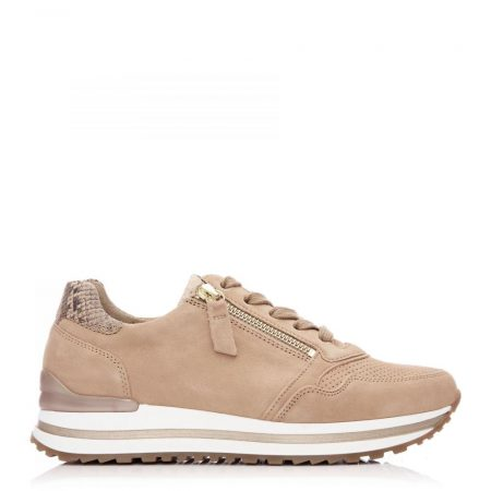 All Trainers | Moda in Pelle Womens G Nulon Taupe Suede Nulon