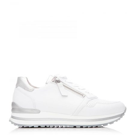 All Trainers | Moda in Pelle Womens G Nulon White Suede Nulon
