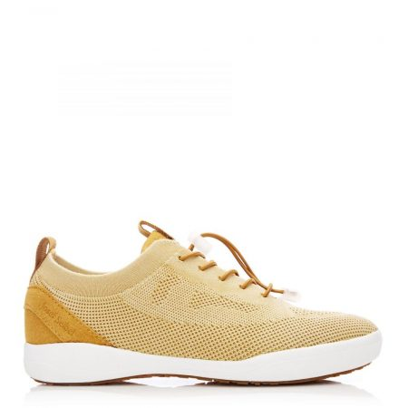 All Trainers | Moda in Pelle Womens Js Sina 65 Yellow Fabric Sina