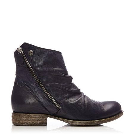 Ankle Boots | Moda in Pelle Womens Annika Navy Leather Navy