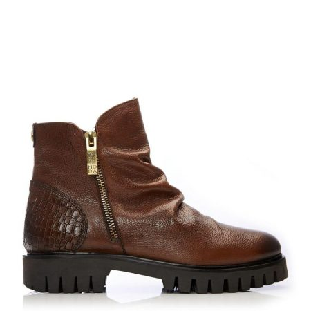 Ankle Boots | Moda in Pelle Womens Ashleigh Tan Leather Tan