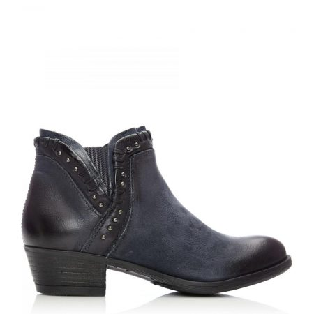 Ankle Boots | Moda in Pelle Womens Beretia Navy Leather Navy
