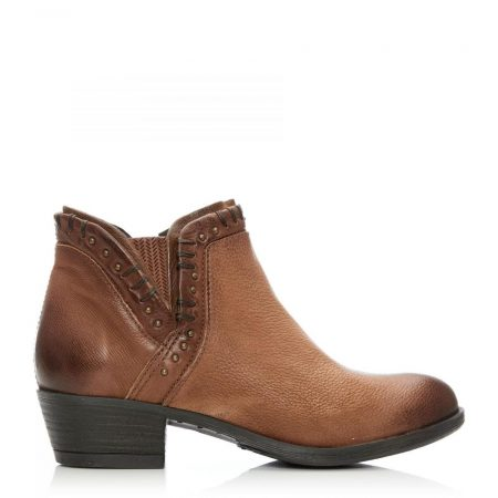 Ankle Boots   Moda in Pelle Womens Beretia Tan Leather Tan
