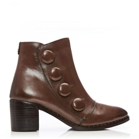 Ankle Boots | Moda in Pelle Womens Beverle Tan Leather Tan
