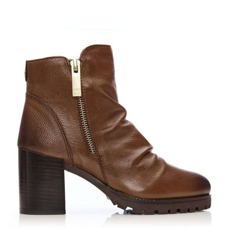 Ankle Boots | Moda in Pelle Womens Brinnie Tan Leather Tan