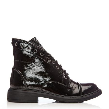 Ankle Boots | Moda in Pelle Womens Brixie Black Patent Black