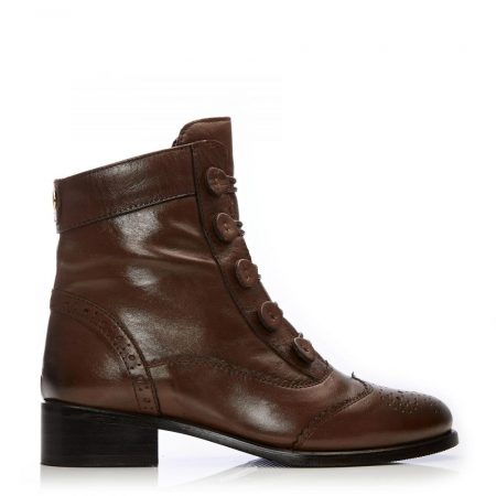 Ankle Boots | Moda in Pelle Womens Brodie Tan Leather Tan