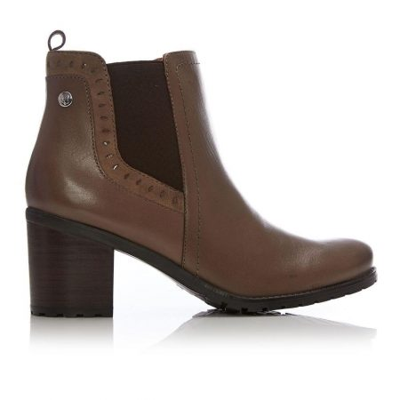 Ankle Boots | Moda in Pelle Womens C Koll Taupe Leather Koll