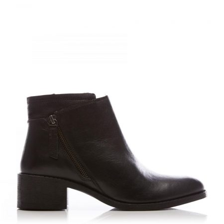 Ankle Boots | Moda in Pelle Womens Ceceria Black Leather Black