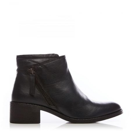 Ankle Boots | Moda in Pelle Womens Ceceria Navy Leather Navy