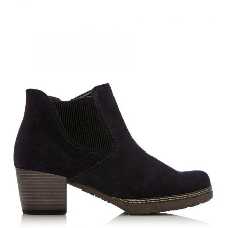 Ankle Boots | Moda in Pelle Womens G Lilia Navy Suede Lilia