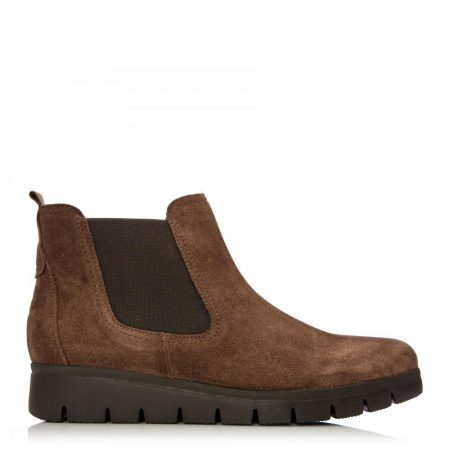 Ankle Boots | Moda in Pelle Womens G Ranch Tan Suede Ranch
