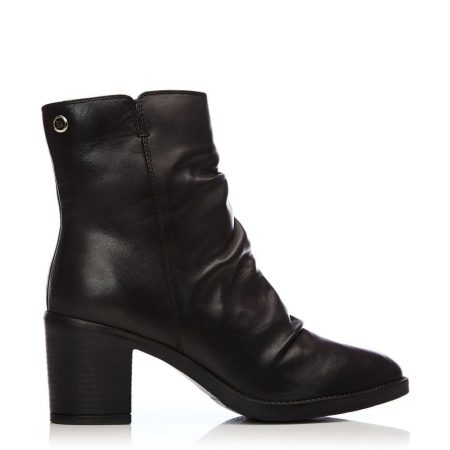 Ankle Boots | Moda in Pelle Womens Loula Black Leather Black