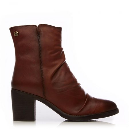 Ankle Boots | Moda in Pelle Womens Loula Tan Leather Tan