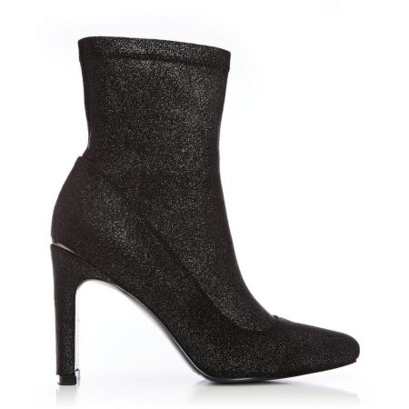 Ankle Boots | Moda in Pelle Womens Novalee Pewter Textile Pewter