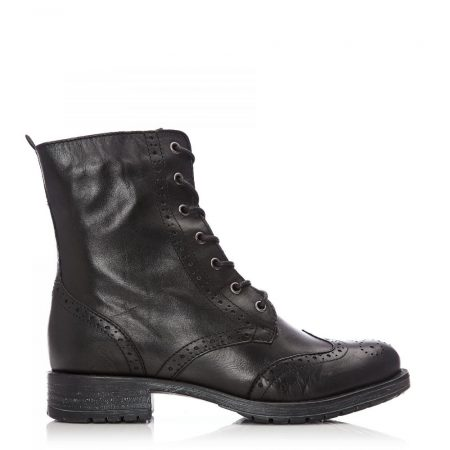 Ankle Boots | Moda in Pelle Womens Sh Beth Black Leather Beth