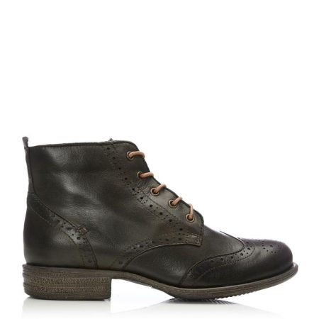 Ankle Boots | Moda in Pelle Womens Sh Bethany Olive Leather Bethany