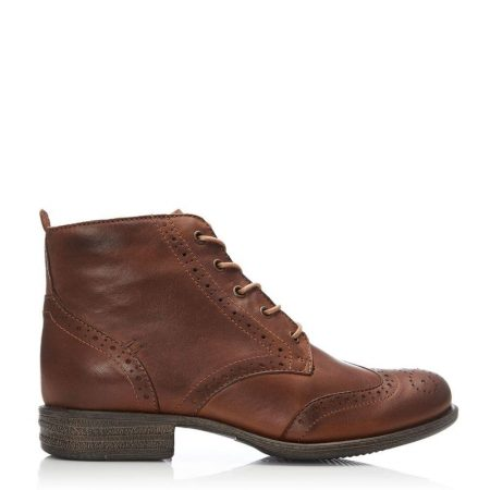 Ankle Boots | Moda in Pelle Womens Sh Bethany Tan Leather Bethany