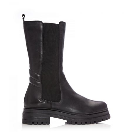 Ankle Boots | Moda in Pelle Womens Sh Idyll Black Leather Idyll