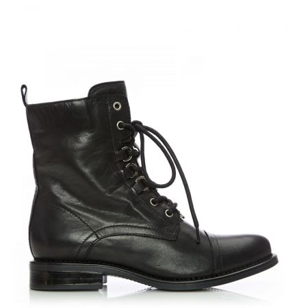 Ankle Boots | Moda in Pelle Womens Sh Instyle Black Leather Instyle