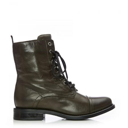 Ankle Boots | Moda in Pelle Womens Sh Instyle Olive Leather Instyle