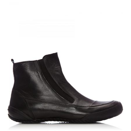 Ankle Boots | Moda in Pelle Womens Sh Sprite Black Leather Sprite