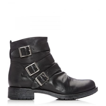 Ankle Boots | Moda in Pelle Womens Sh Stowe Black Leather Stowe
