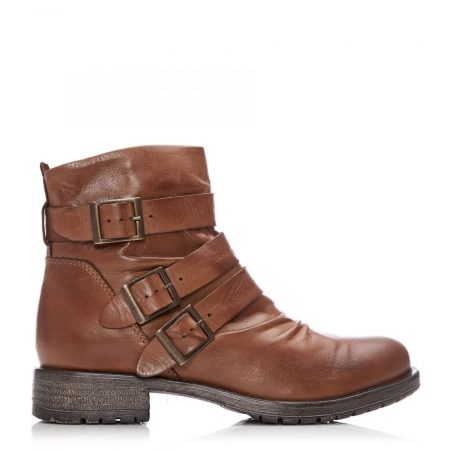 Ankle Boots | Moda in Pelle Womens Sh Stowe Tan Leather Stowe