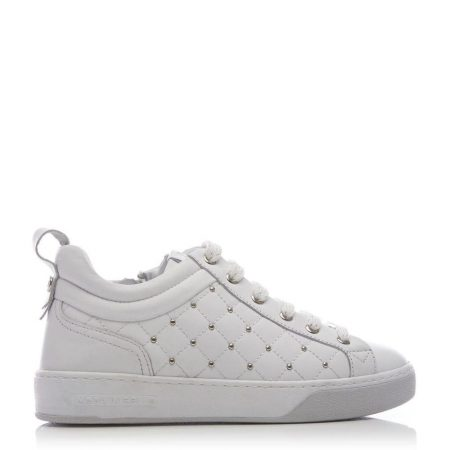 Casual Shoes And Trainers | Moda in Pelle Womens Adalee White Leather White