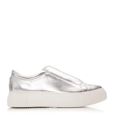 Casual Shoes And Trainers | Moda in Pelle Womens Agora Silver Porvair Silver