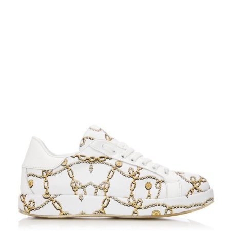 Casual Shoes And Trainers | Moda in Pelle Womens Aking White Leather White