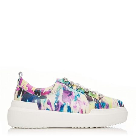 Casual Shoes And Trainers | Moda in Pelle Womens Alejandra Multicoloured Leather Multicoloured