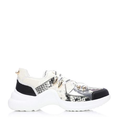 Casual Shoes And Trainers | Moda in Pelle Womens Amai Mono Snake Snake Print Mono