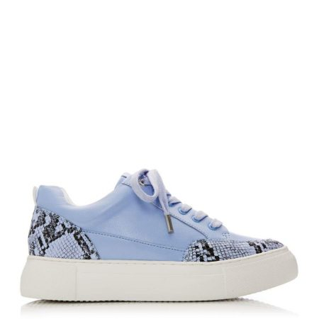 Casual Shoes And Trainers   Moda in Pelle Womens Aralsia Blue Porvair Blue