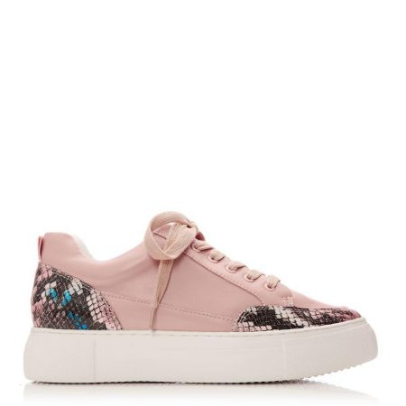 Casual Shoes And Trainers | Moda in Pelle Womens Aralsia Pink Porvair Pink