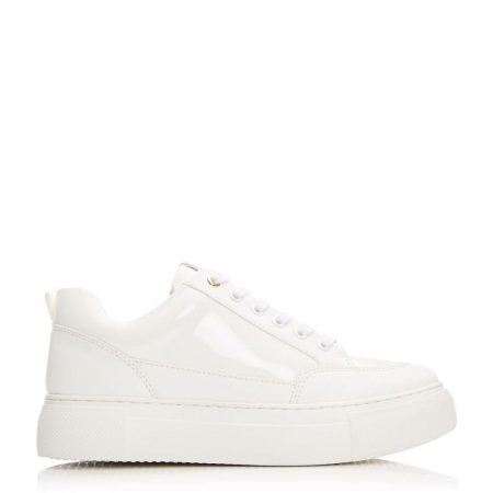 Casual Shoes And Trainers   Moda in Pelle Womens Aralsia White Porvair White