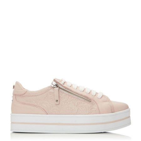 Casual Shoes And Trainers | Moda in Pelle Womens Arixo Nude Leather Nude