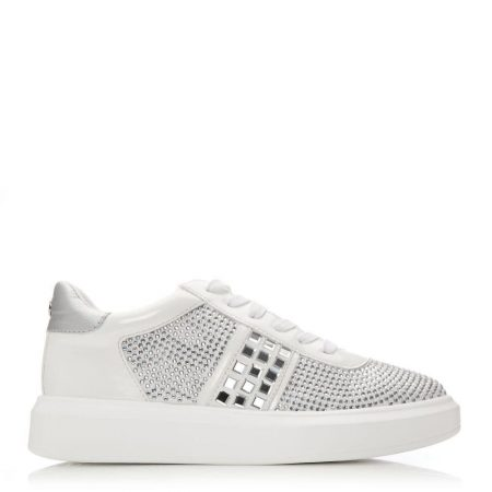 Casual Shoes And Trainers | Moda in Pelle Womens Aster White Porvair White