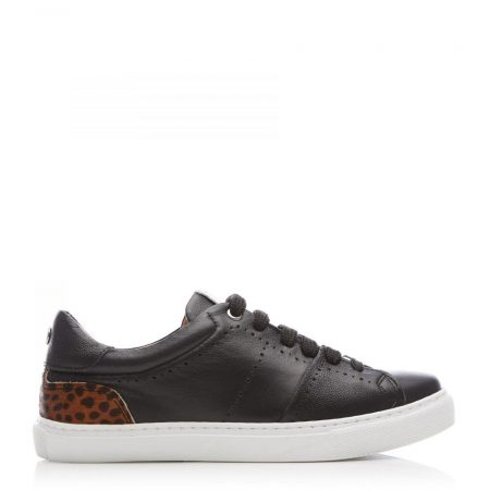 Casual Shoes And Trainers | Moda in Pelle Womens Astina Black Leather Black