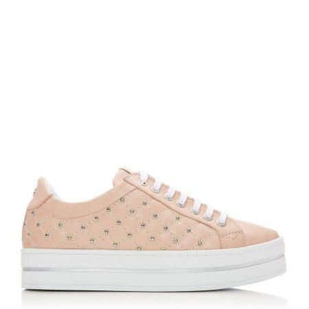 Casual Shoes And Trainers   Moda in Pelle Womens Aubree Nude Leather Nude