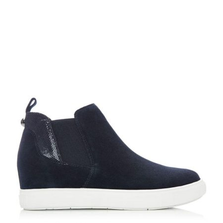 Casual Shoes And Trainers   Moda in Pelle Womens Avah Navy Suede Navy