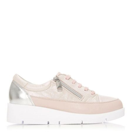 Casual Shoes And Trainers   Moda in Pelle Womens Beena Rose Gold Leather Rose