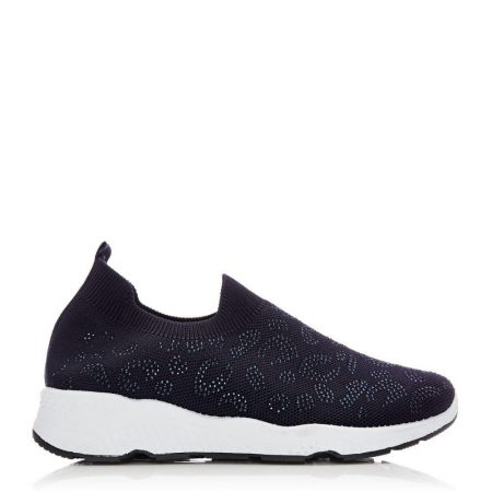 Casual Shoes And Trainers   Moda in Pelle Womens Bereene Navy Fabric Navy