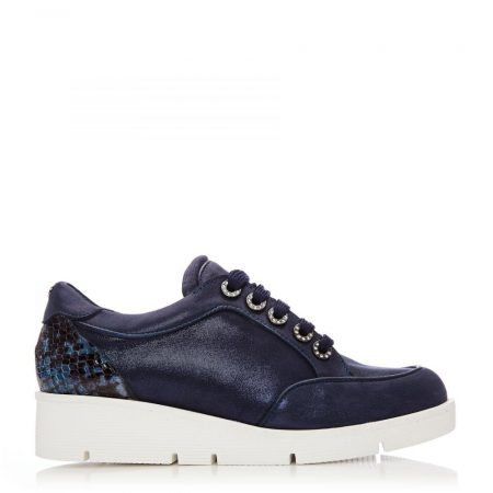 Casual Shoes And Trainers   Moda in Pelle Womens Birrin Navy Leather Navy