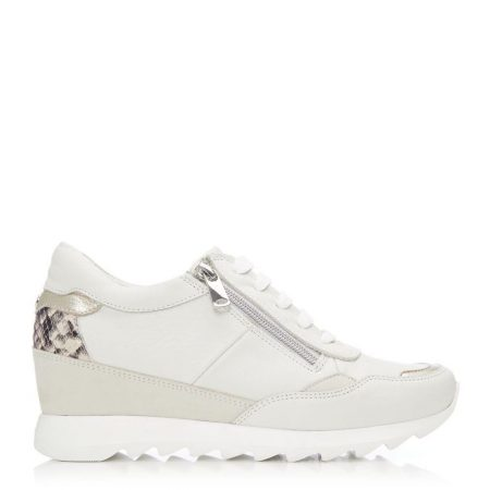 Casual Shoes And Trainers   Moda in Pelle Womens Blossome Beige Leather Beige