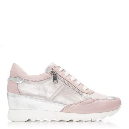 Casual Shoes And Trainers   Moda in Pelle Womens Blossome Nude Leather Nude